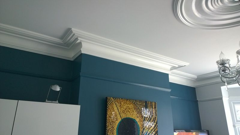 mark rogers decorating - ceiling-coving leicester